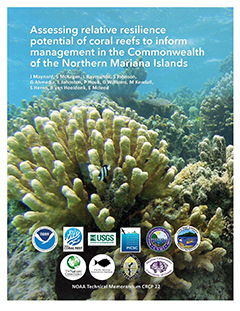 cover - Assessing relative resilience potential of coral reefs to inform management in CNMI