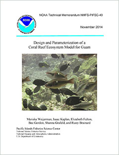 Cover - Design and Parameterization of a Coral Reef Ecosystem Model for Guam