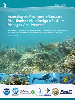 Cover - Assessing the Resilience of Leeward Maui Reefs to Help Design a Resilient Managed Area Network