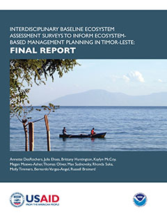 Interdisciplinary Baseline Ecosystem Assessment to Inform Ecosystem-Based Management Planning in Timor-Leste