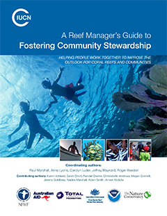 cover - Reef Manager's Guide to Fostering Community Stewardship