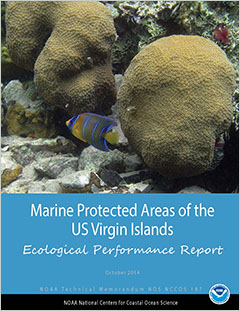 Cover - Marine Protected Areas of the US Virgin Islands: Ecological Performance Report
