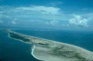 Image of barrier island