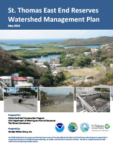 STEER Watershed Management Plan Report cover