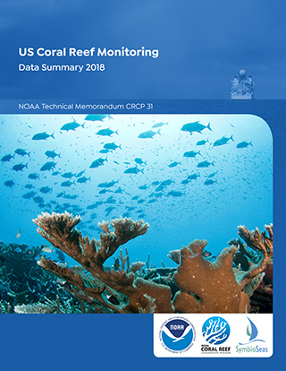 Cover - US Coral Reef Monitoring Data Summary 2018