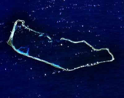 Marshall Islands satellite map